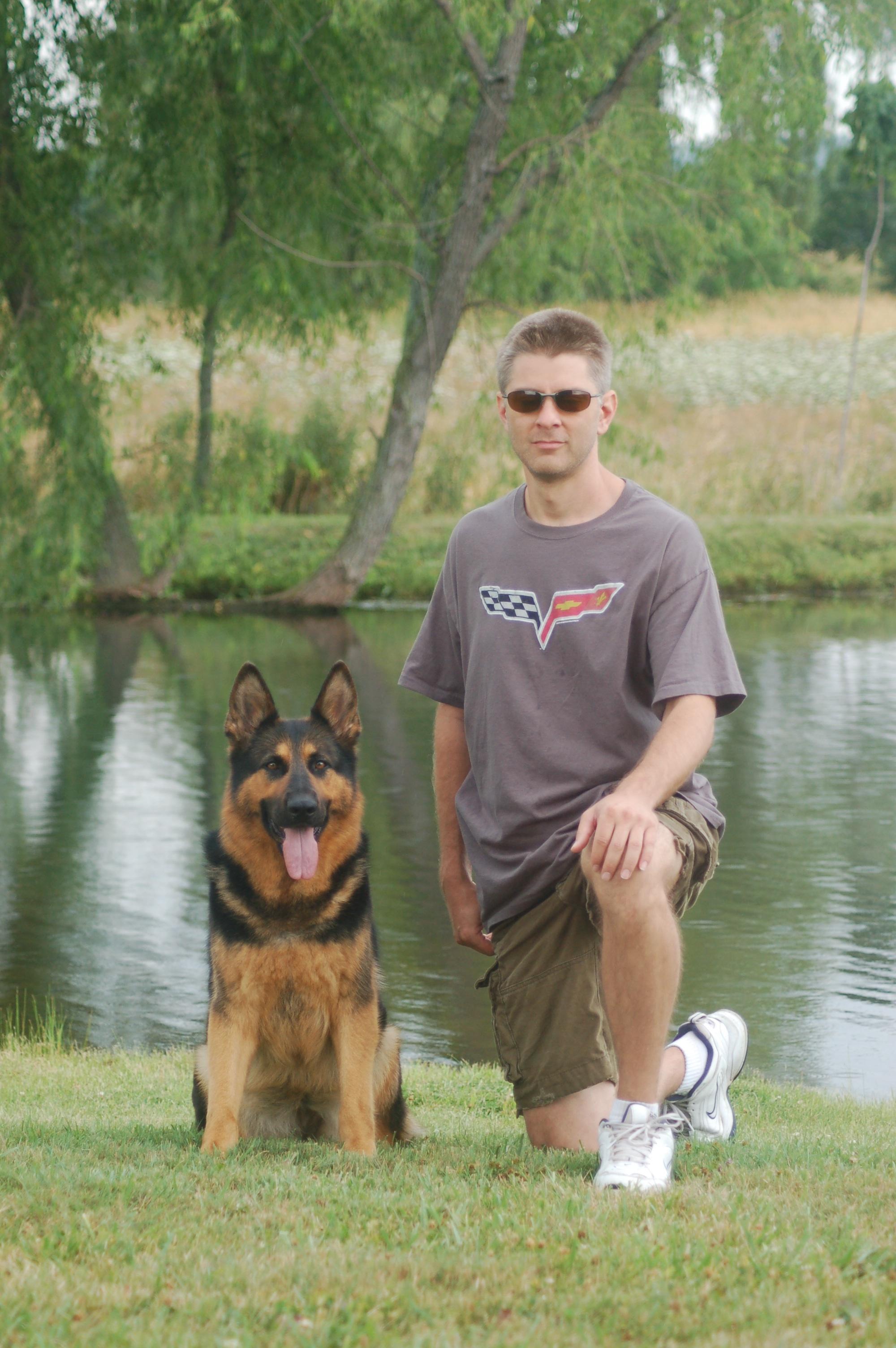 Tina, New Family Protection Dogs.